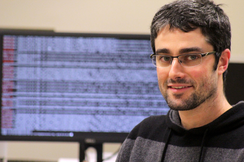 Marcos García, investigador del CiTIUS