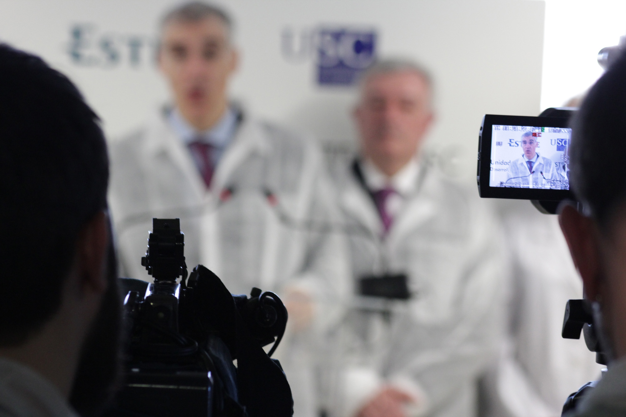 Presentación de la Unidad Mixta Biofarma-Esteve / Foto: Andrés Ruiz.